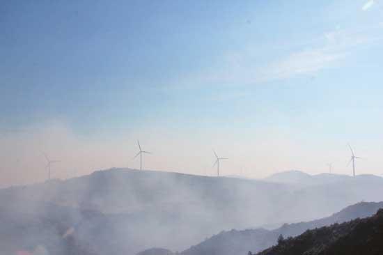 云南森林火灾蔓延至昆明富民境内