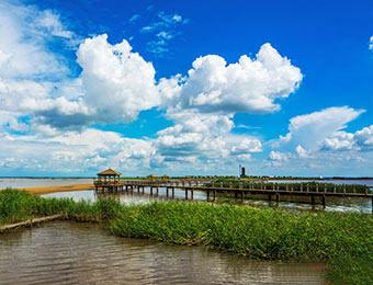 图说中国:哈尔滨呼兰河口湿地风光