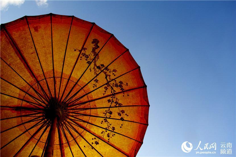 天空之城李志曲谱简谱-云南边地小城的油纸伞之家【高清组图】
