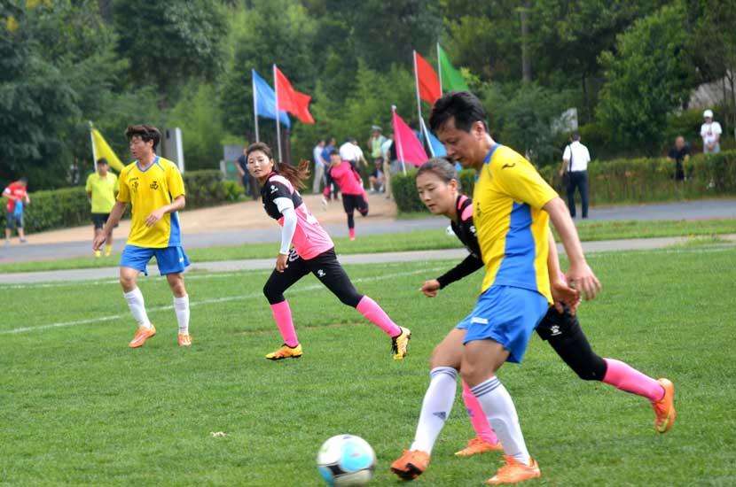 全国青少年校园足球夏令营开营仪式在泸西举行