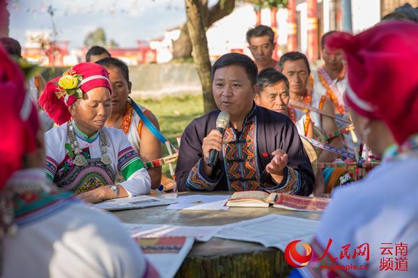 人民网 薛丹 摄-云南 民族团结进步之花开遍地