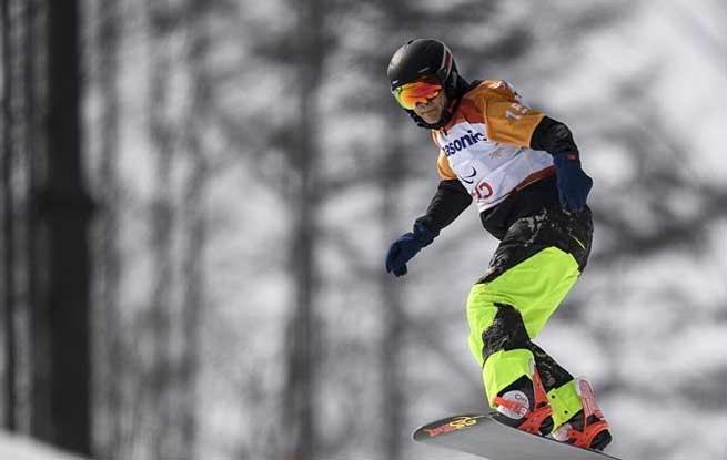 单板滑雪――男子障碍追逐预赛赛况