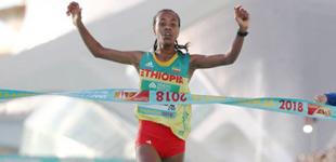 1小时06分11秒!新的女子半马世界纪录