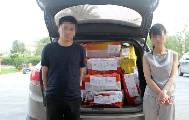 云南普洱破获特大贩毒案 261公斤毒品塞满汽车后备箱