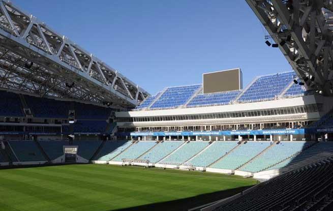 2018俄罗斯世界杯场馆巡礼:索契菲什特体育场
