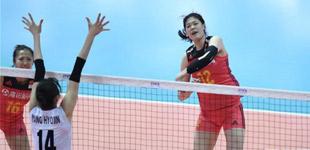 世界排球联赛:中国女排遭遇新年首败