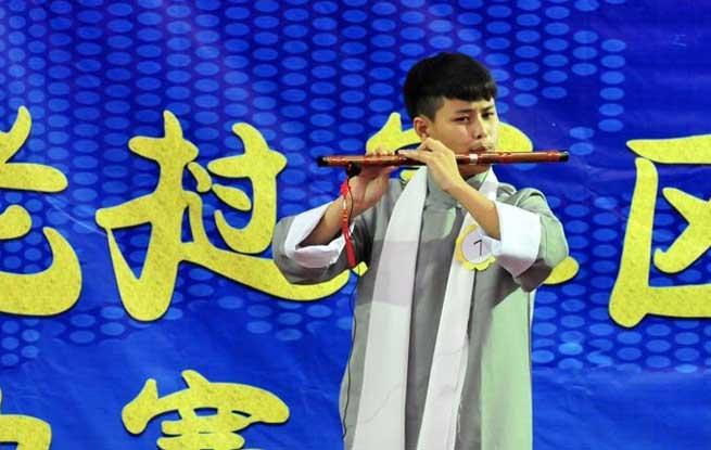 """老挝举办""""汉语桥""""世界大学生中文比赛"""