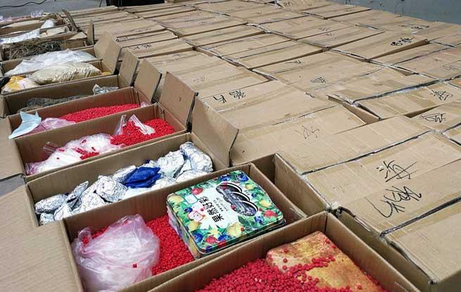 云南普洱:公开销毁毒品3吨(图)