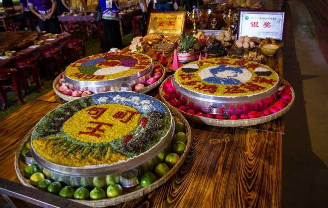 云南广南:115道特色菜肴再现古礼王宴