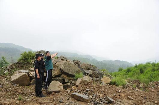 昆明西山:非法开采矿产资源22名