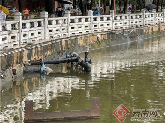 """每天补水3.2万立方米 """"清水入翠""""工程正式通水"""